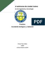 Practica Riesco Biologico y Radiacion Of