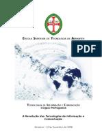 A Revolução das Tecnologias de Informação e Comunicação (TIC)