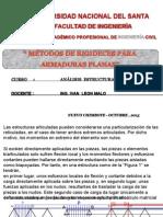 3.- Armaduras Planas