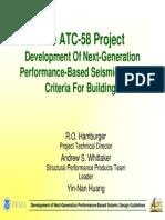 Development of Next Generation Performance Based Seismic Design Criteria Presentation