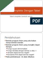 Kuliah 5simpleks Bentuk Umum