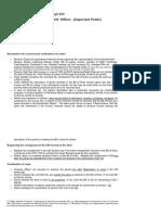 Work Guide on CBEC Customs Manual - Customs Clearance Through EDI
