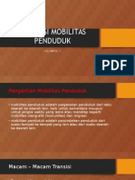 TRANSISI MOBILITAS PENDUDUK