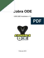 Cobra ODE USB QSB Manual (English) V1.0