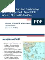 Presentasi Industri Ekstraktif ASEAN Final