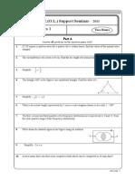 Mathematics Paper I & II (E)