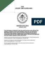 FAA 2015-16 HoldoverTables