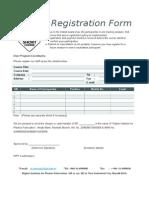 Registration Form 2016 HIPF Short Course