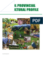 Bohol Provincial Agricultural Profile