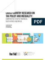 Cross Country Research On Tax Policy And Inequality