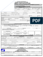 SSS Form Salary Loan