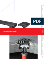 Floor Deck Drain _Flachdachkatalog Englisch Parking Deck