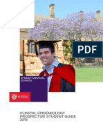 Clinical Epidemiology Guide 2015
