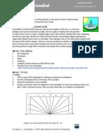 Create Sundial Teacher Worksheet