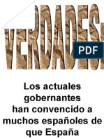 Verdades injustas (farsa de politica española)