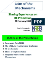 RA 9513 - Renewable Energy Act Presentation