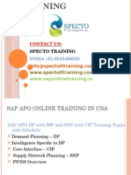 Sap Apo Online Training