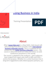 Indian business culture - How to do business with Indians