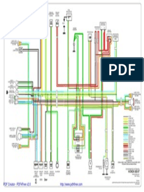 BeAT Wiring Diagram on