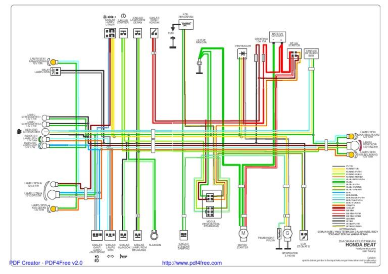 beat wiring diagram rh scribd com wiring diagram lampu depan honda beat wiring diagram lampu depan vixion