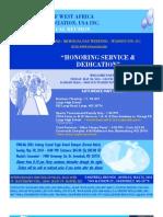 CWA 2010 Reunion Flyer and Itinerary