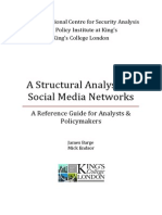 A Structural Analysis of Social Media Networks