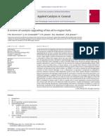 Review of Catalytic Upgrading of Bio-oil- Mortensen Et Al 2011