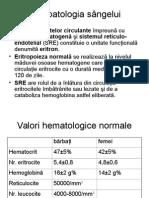 Fiziopatologia sângelui