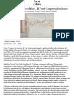 Da Seurat a Mondrian, Il Post-Impressionismo
