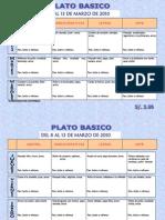Plato Basico 22-27 marzo