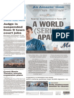 Asbury Park Press front page, October 27, 2015