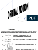 Orbital Motion detailed