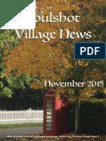 Poulshot Village News - November 2015