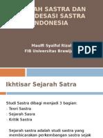 Sejarah Sastra Dan Periodesasi Sastra Indonesia2