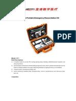 Portable Resuscitation Kit