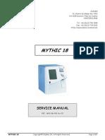 Orphee Mythic 18 Analyzer - Service Manual