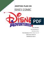 Marketing Plan on Disney Comics