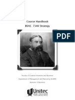 Course Handbook and Syllabus - Strategy for Sustainability - Unitec BSNS 7340