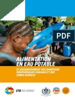 Alimentation en Eau Potable Et Assainissement Des Quartiers Périphériques Urbains Et Des Zones Rurales en RDC