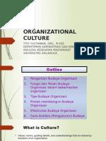 Kuliah Materi Budaya Organisasi