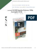 Camara Hd Wifi Deportes Extremos 1080p Sumergible 30 Mts - $ 47