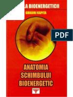 Grigori Kapita - Anatomia Schimbului Bioenergetic