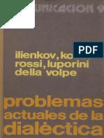 Problemas Actuales de La Dialéctica