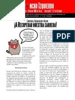 """Boletín """"Gancho Izquierdo"""" N° 1"""