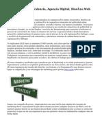 Marketing Online Valencia, Agencia Digital, Diseño Web 2.0