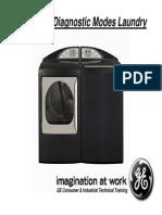 Ge Laundry Diagnostic Modes