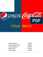 Cola Wars case solution
