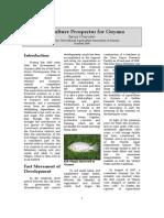 Aquaculture Prospectus for Guyana