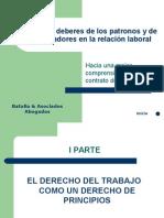 Derechos y deberes de los patronos y de los trabajadores den.ppt