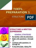 TOEFL Prep 1 Structure